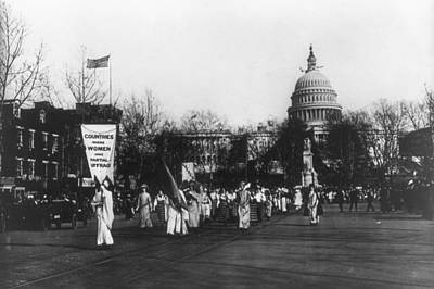 Suffrage Parade, 1913 Poster by Granger