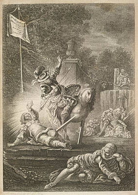 The History Of Don Quixote Poster by British Library