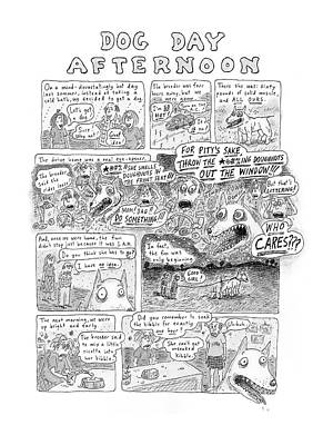 New Yorker November 12th, 2001 Poster by Roz Chast