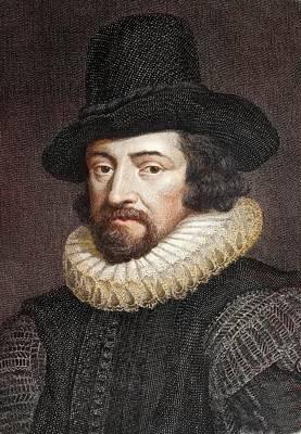 1618 Sir Francis Bacon Scientist Portrait Poster