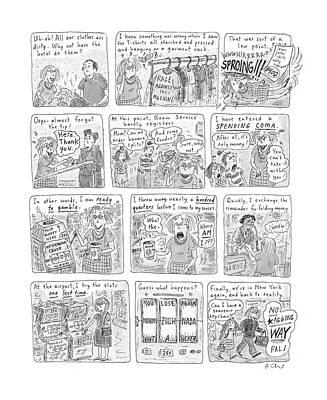 New Yorker November 17th, 2003 Poster