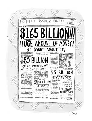 New Yorker April 24th, 2000 Poster by Roz Chast