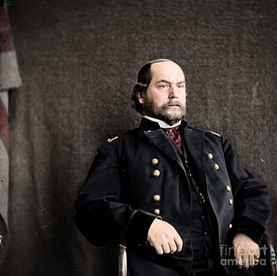 16th Quarter Master General And Brevet Major General Poster by Celestial Images