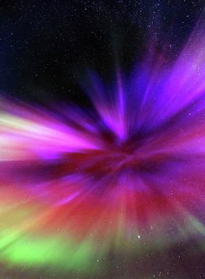 Aurora Borealis Poster by Babak Tafreshi