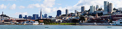 Buildings At The Waterfront Poster by Panoramic Images