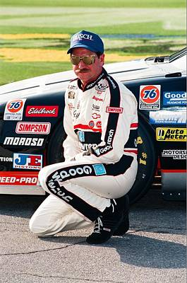Dale Earnhardt Poster by Retro Images Archive