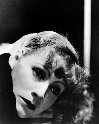 Greta Garbo Poster by Silver Screen