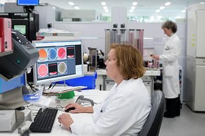 Hospital Pathology Lab Poster
