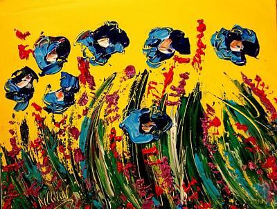 Poppies Poster by Mark Kazav