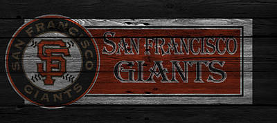 San Francisco Giants Poster by Joe Hamilton