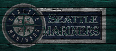 Seattle Mariners Poster by Joe Hamilton