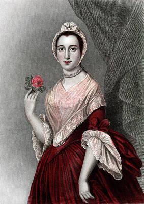 1700s 1750s Jane Keteltas Beekman Wife Poster