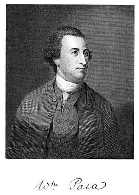 1700s 1770s 1776 William Paca Signer Poster