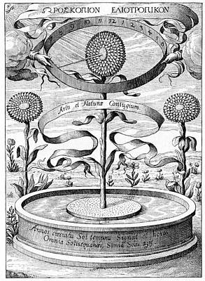 17th Century Sundial Poster by Cci Archives