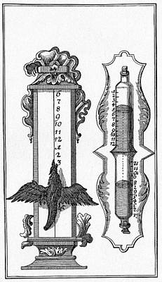 17th Century Water Clock Poster by Cci Archives