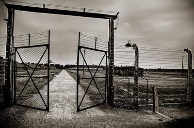 Auschwitz Poster by Mihai Ilie