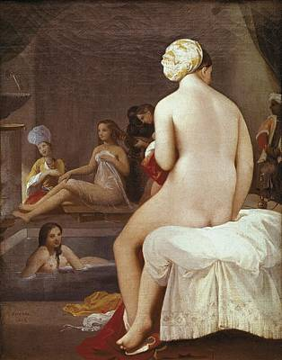 Ingres, Jean-auguste-dominique Poster by Everett