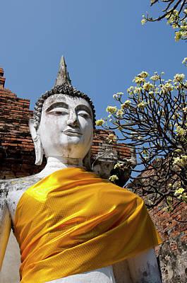 Thailand, Ayutthaya Poster by Cindy Miller Hopkins