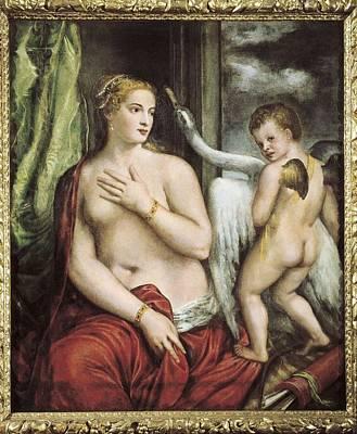 Ttitia, Tiziano Vecello, Also Called Poster by Everett