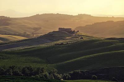 Tuscany - Val D'orcia Poster by Joana Kruse