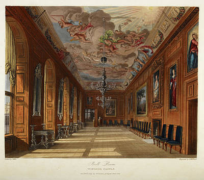Windsor Castle Poster by British Library