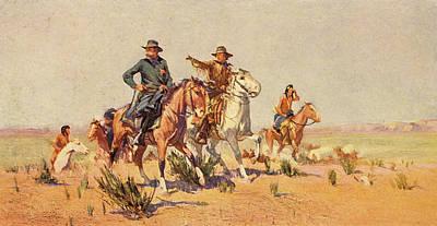 1800s 1840s 1860s John C Fremont Poster