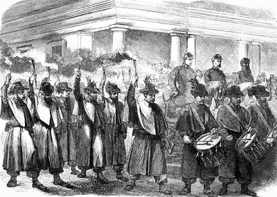 1800s 1860s December 1861 Torchlight Poster
