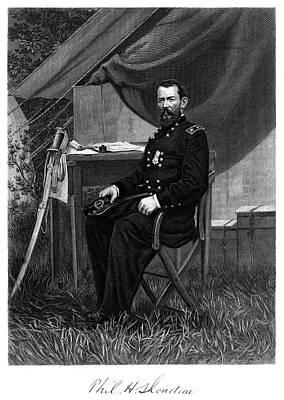 1800s 1860s Portrait Philip Sheridan Poster