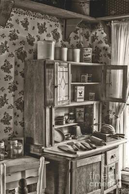 1800s Kitchen Poster