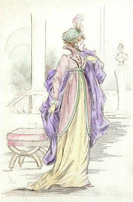 1809, Womens Fashion In Nineteenth-century Paris Poster