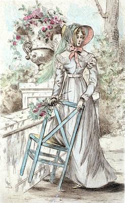 1817, Womens Fashion In Nineteenth-century Paris Poster by Artokoloro
