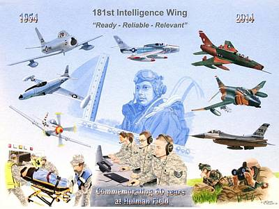 181st Intelligence Wing Poster