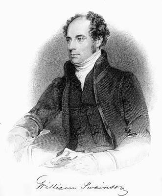 1840 William Swainson Naturalist Portrait Poster