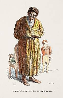 1842 Geoffrey Saint Hilaire Scientist Poster