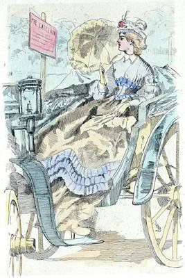 1864, Womens Fashion In Nineteenth-century Paris Poster by Artokoloro