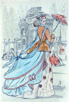 1868, Womens Fashion In Nineteenth-century Paris Poster