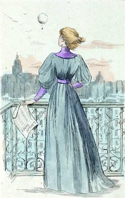 1870, Womens Fashion In Nineteenth-century Paris Poster by Artokoloro