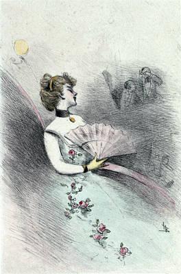 1874, Womens Fashion In Nineteenth-century Paris Poster by Artokoloro