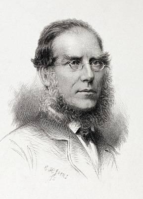 1875 Joseph Hooker Botanist Kew Darwinian Poster by Paul D Stewart