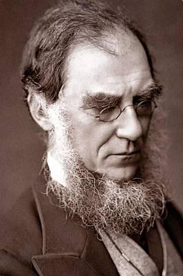 1881 Sir Joseph Hooker Botanist Darwinian Poster by Paul D Stewart