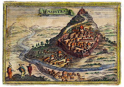 18th C. Mystras Greece Poster by Historic Image