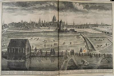 18th-century London Poster