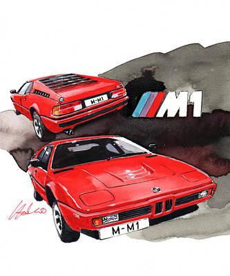 Bmw M1 Poster