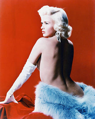 Jayne Mansfield Poster by Silver Screen