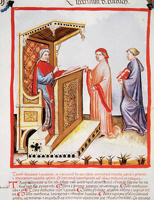Tacuinum Sanitatis, Medieval Health Poster