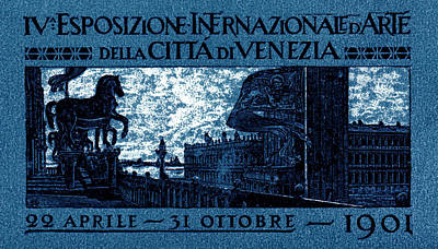 1901 Venice International Arts Exposition Poster by Historic Image