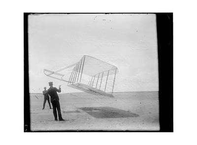1901 Wright Brothers Glider Poster by MMG Archives