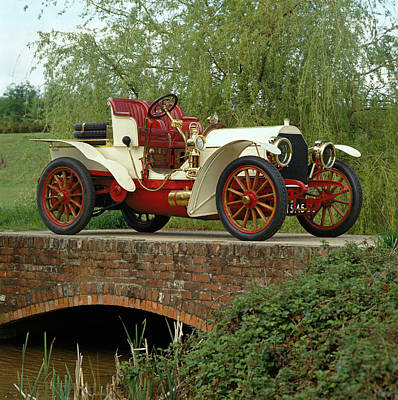 1903 Mercedes Simplex Sixty 2-seat Poster