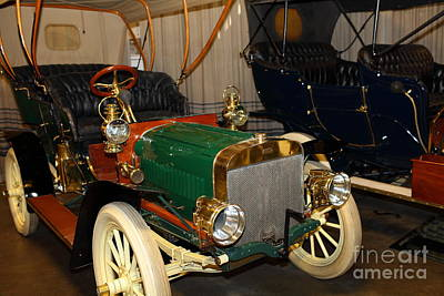 1904 Ford Model B Touring 5d25555 Poster by Wingsdomain Art and Photography