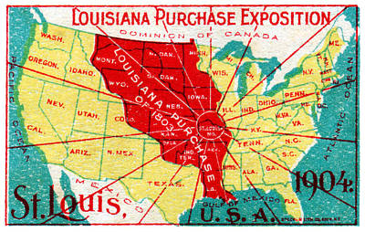 1904 Louisiana Purchase Exposition Poster by Historic Image